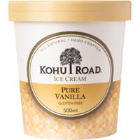 Kohu Road Pure Vanilla Ice Cream 500ml