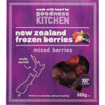 Goodness Kitchen New Zealand Mixed Frozen Berry 500g