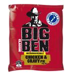 Big Ben Classic Microwavable Chicken & Gravy Pie 140g