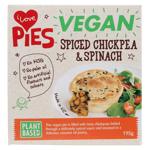 I Love Pies Vegan Spiced Chickpea & Spinach Pie 195g