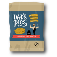 Dad's Pies Angus Chilli Beef & Cheese Pie 200g
