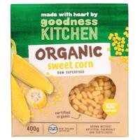 Goodness Kitchen Organic Sweet Corn 400g