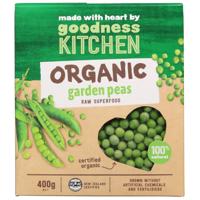 Goodness Kitchen Organic Garden Peas 400g