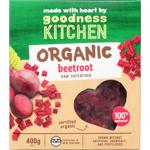 Goodness Kitchen Organic Beetroot 400g