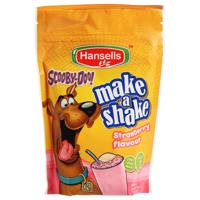 Hansells Scooby-Doo Make A Shake Strawberry 200g