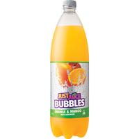 Just Juice Bubbles Soft Drink Orange Mango With Lemonade 1.25l