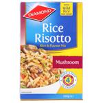 Diamond Rice Risotto Rice Dish Mushroom 200g