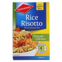 Diamond Rice Risotto Rice Dish Teriyaki Chicken 200g