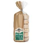 MacKenzie Oat & Quinoa Wholegrain Muffin Splits 6ea
