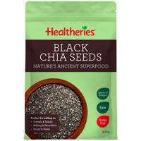 Healtheries Black Chia Seeds 200g
