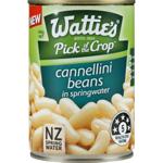 Wattie's Cannellini Beans In Springwater 400g