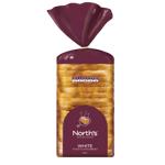 Norths White Toast Sliced Bread 600g