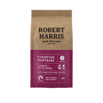 Robert Harris Ethiopian Fairtrade Medium Plunger / Filter Grind 100% Arabica Fresh Coffee 200g