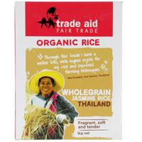 Trade Aid Organic Brown Jasmine Rice 1kg