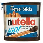 Nutella & Go Hazelnut Spread + Pretzel Sticks 50g