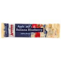 Annies Apple & Banana Blueberry Fruit Bar 30g