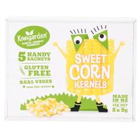 Kiwigarden Gluten Free Sweet Corn Kernels 45g