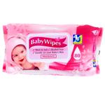 4U Pink Baby Wipes 80ea