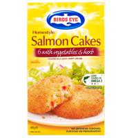 Birds Eye Fish Cakes Salmon, Herb & Vegetable 480g