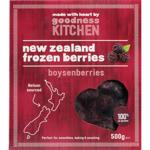 Goodness Kitchen New Zealand Frozen Boysenberries 500g