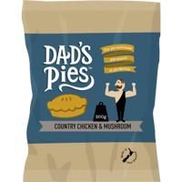 Dad's Pies Country Chicken & Mushroom Pie 200g
