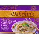 Dakshin's Thai Green Chicken Curry on Rice 300g
