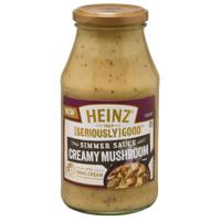 Heinz Seriously Good Creamy Mushroom Simmer Sauce 500g