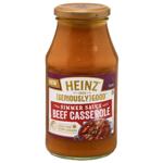 Heinz Seriously Good Beef Casserole Simmer Sauce 500g