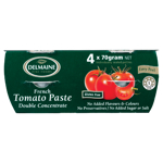 Delmaine French Tomato Paste Double Concentrate 4pk