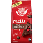 Nestle Baker's Choice Delightful Dark Choc Melts 290g