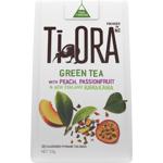 Ti Ora Peach & Passionfruit & New Zealand Kawakawa Pyramid Tea Bags 15ea