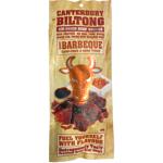 Canterbury Biltong Air-Dried Barbeque Beef Snacks 100g