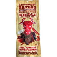 Canterbury Biltong Air-Dried Chilli Touch Of 'Whoa' Beef Snacks 100g