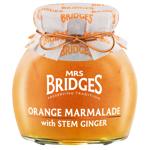 Mrs Bridges Orange Marmalade With Stem Ginger 200g