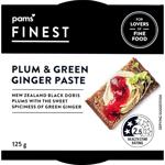 Pams Finest Plum & Green Ginger Paste 125g