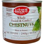 Clememt Faugier Whole & Peeled Chestnuts 240g