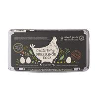 Otaika Valley Free Range Mixed Grade Premium Eggs 18ea
