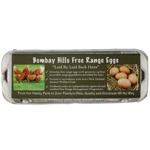 Bombay Hills Free Range Eggs 12ea
