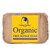 Pasture Poultry Organic Free Range Eggs 6ea