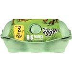 Big Paddock Free Range Eggs Size 8 6ea
