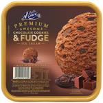 Much Moore Premium Awesome Chocolate Cookies & Fudge Ice Cream 2l