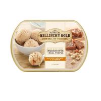 Killinchy Gold Salty Caramel & Cashew Ice Cream 1l