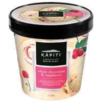 Kapiti White Chocolate & Raspberry Ice Cream 1l