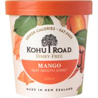Kohu Road Dairy Free Mango Sorbet 500ml