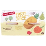 Aunt Betty's Fruit Salad In Juice 4pk