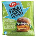 Tegel Take Outs Crispy Crumb Original Chicken Burgers 600g