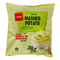 Pams Herb Mashed Potato 1kg