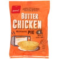 Pams Butter Chicken Microwave Pie 170g