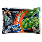 Mama San Shelled Edamame Soybeans 454g