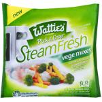 Wattie's Steam Fresh Vege Mixes Carrot Broccoli Cauliflower 320g